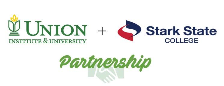 Union Institute logo and Stark State logo