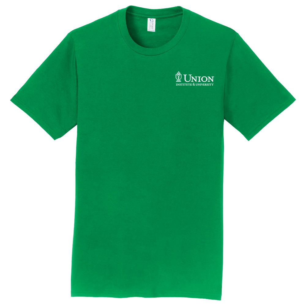 Photo of green Union branded t-shirt