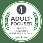 Number One Adult Focused Badge